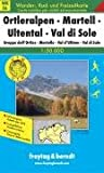 Ortleralpen, Martell, Ultental, Val di Sole GPS: FBW.WKS.06 (Hiking Maps of the South Tyrol)