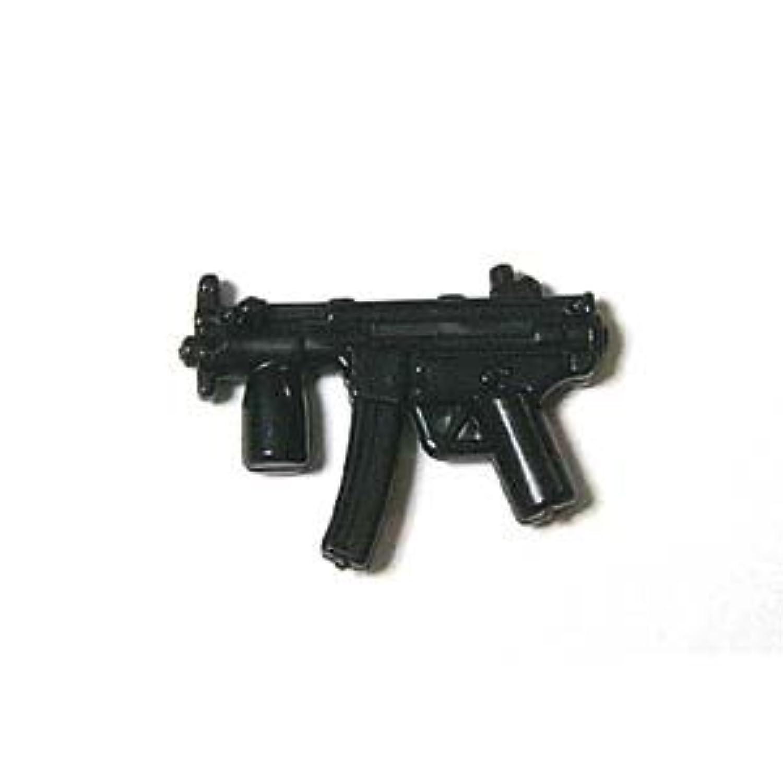LEGOカスタム品 アーミー 装備品 武器 Black MP5KS 【並行輸入品】