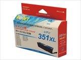 リサイクルインク CANON キャノン BCI-350XLPGBK ブラック大容量 純国産ブランド ReJet/リ・ジェット (シアン大容量)
