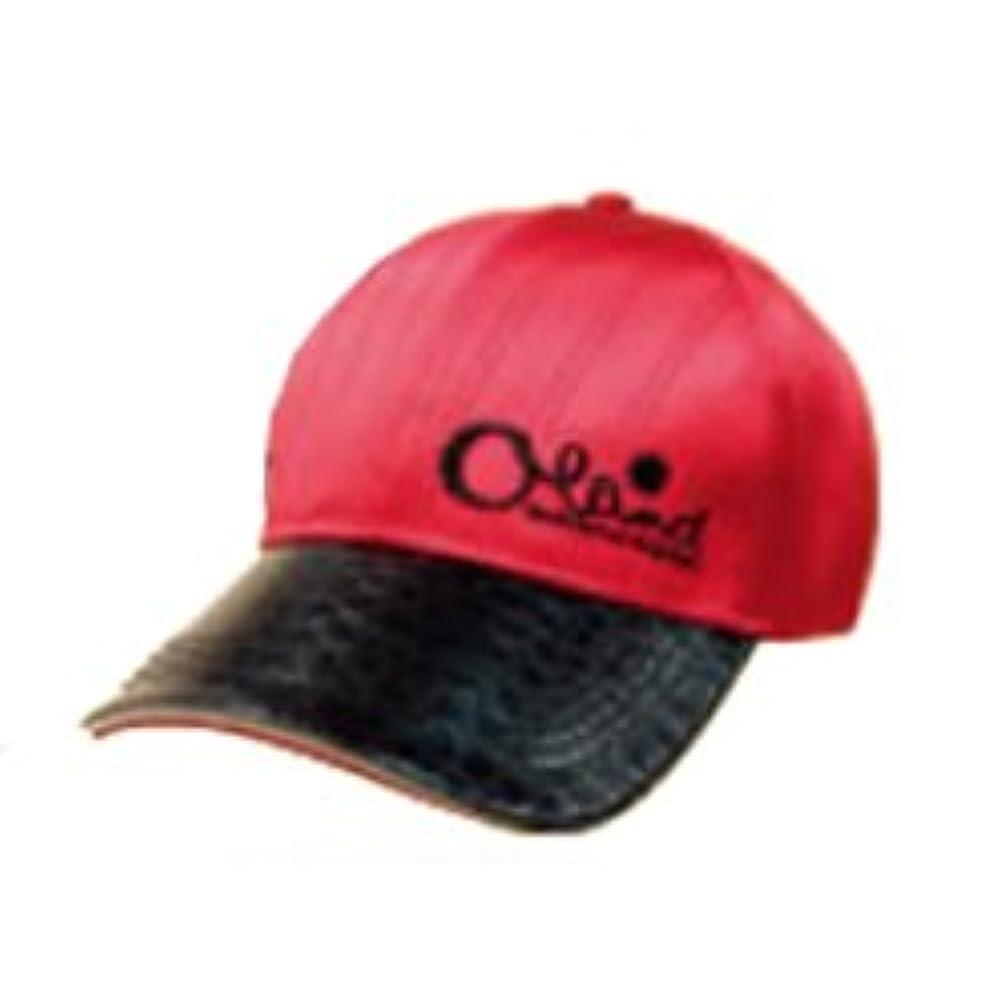 孤独な導体苦行【Oland/オーランド】帽子(CAPS) タイプB レッド 322598 キャップ ボウシ ウェア キャップ帽