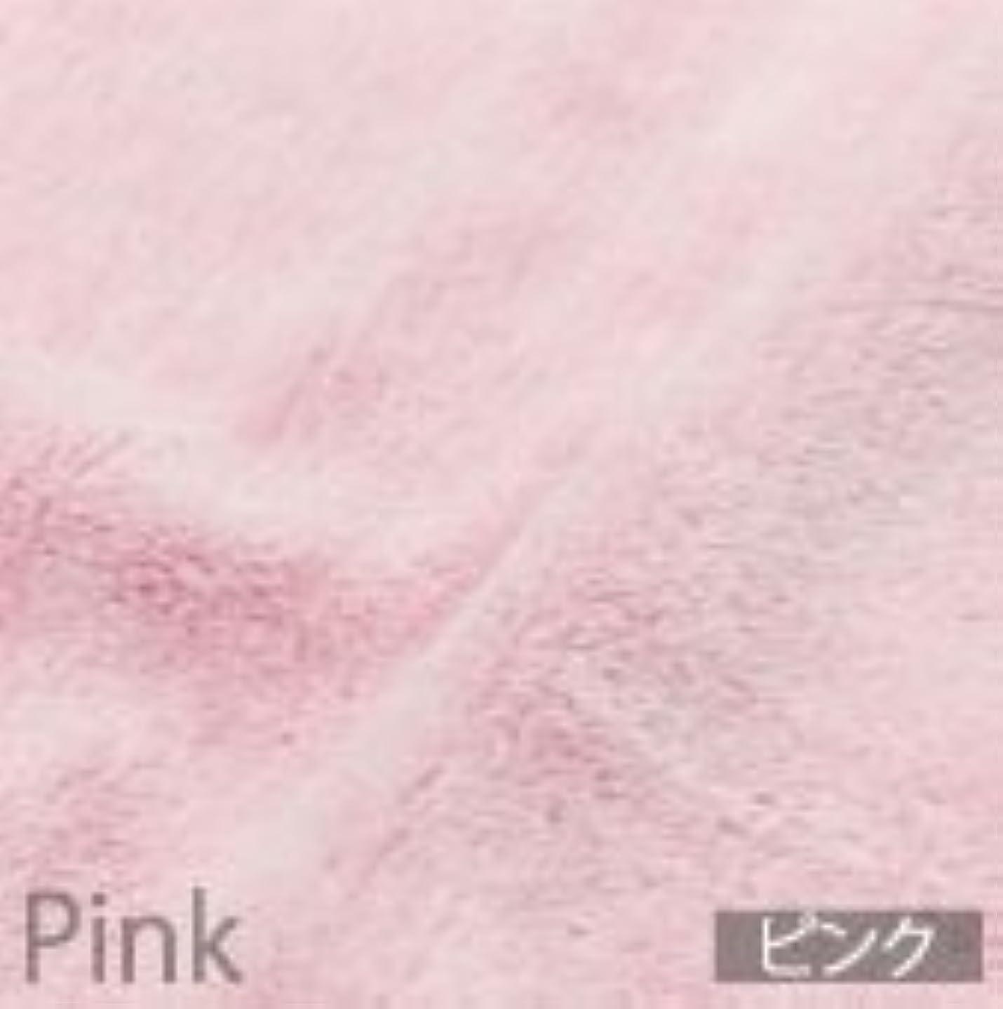 スリム受信機膨張するマイクロファイバーフェイスタオル極ピンク