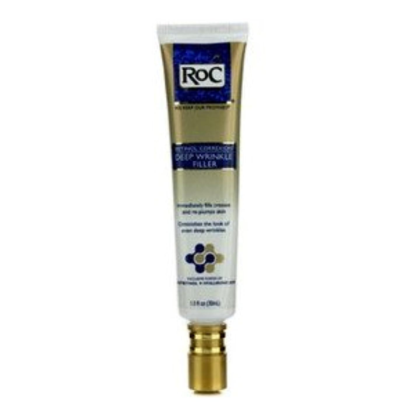 多用途シンプルな香水ROC ロック ナイトケア レチノール コレクシオン ディープ リンクル フィラー -- 30ml/1oz [並行輸入品]
