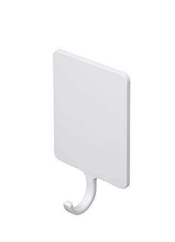 東和産業 浴室用ラック ホワイト 約6×2.7×10.3cm 磁着SQ マグネット バスフック 39199