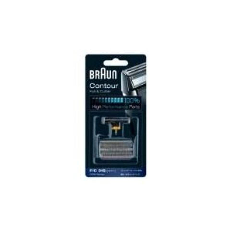 皮衝撃微弱Braun 31S Combi 箔と(旧5000/6000)をカッターの交換パック