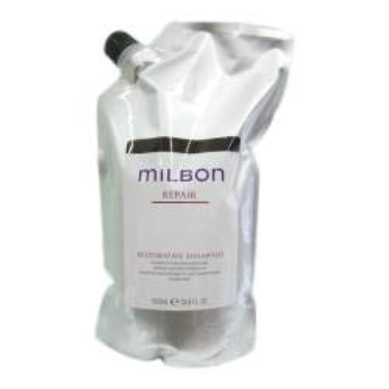 添付珍味謝るミルボン リストラティブ シャンプー<つめかえ用>(1000ml)