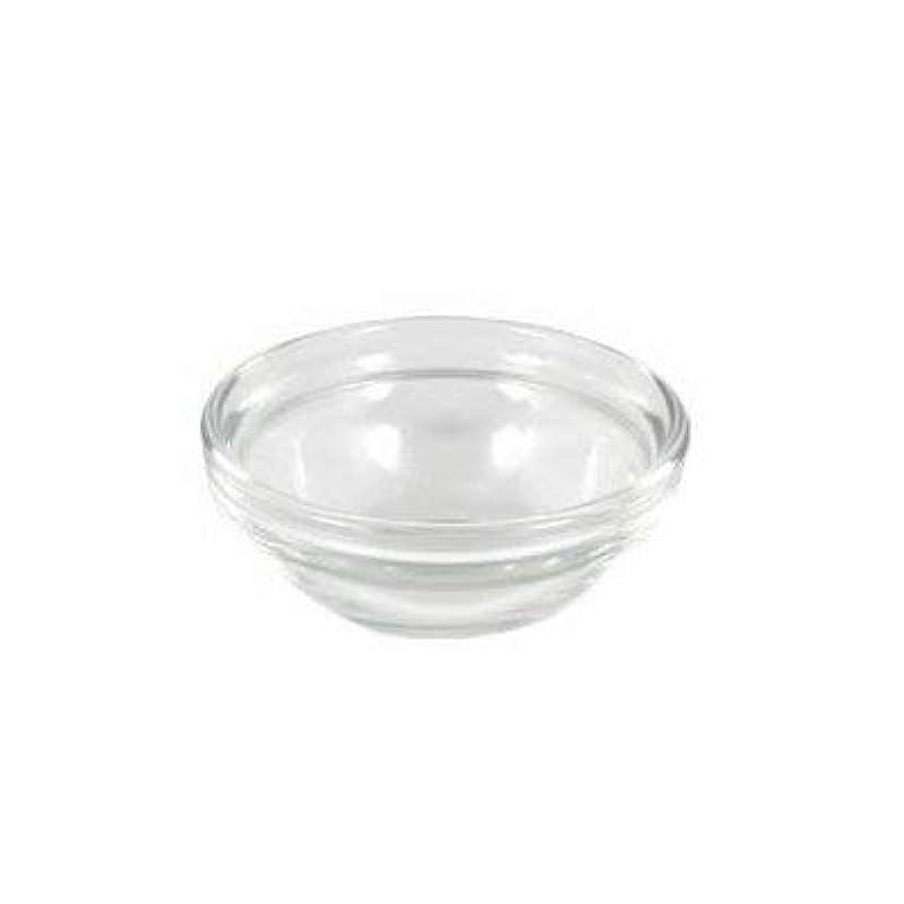 詐欺単独で頑固なガラスボウルXS (直径6×高2.7cm)