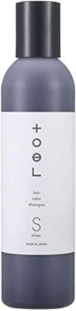 南ワイド大学院トエル (toeL) インターコスメ(InterCosme) トエル(toel) カラーシャンプー 240ml シルバー