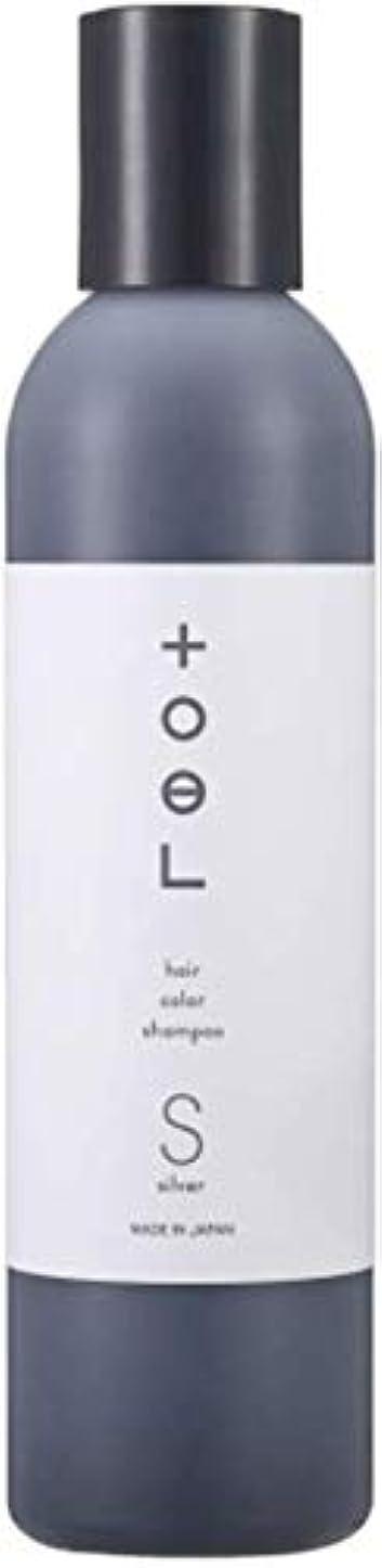 困惑スモッグデジタルトエル (toeL) インターコスメ(InterCosme) トエル(toel) カラーシャンプー 240ml シルバー