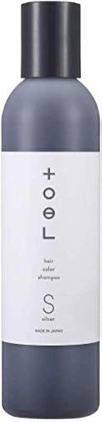 偽善カニ変成器トエル (toeL) インターコスメ(InterCosme) トエル(toel) カラーシャンプー 240ml シルバー
