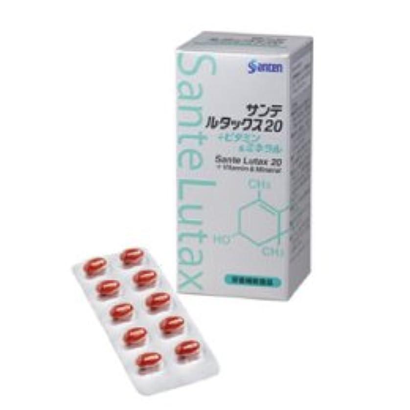 近傍欺く麦芽参天製薬 サンテルタックス20 +ビタミン&ミネラル 90粒
