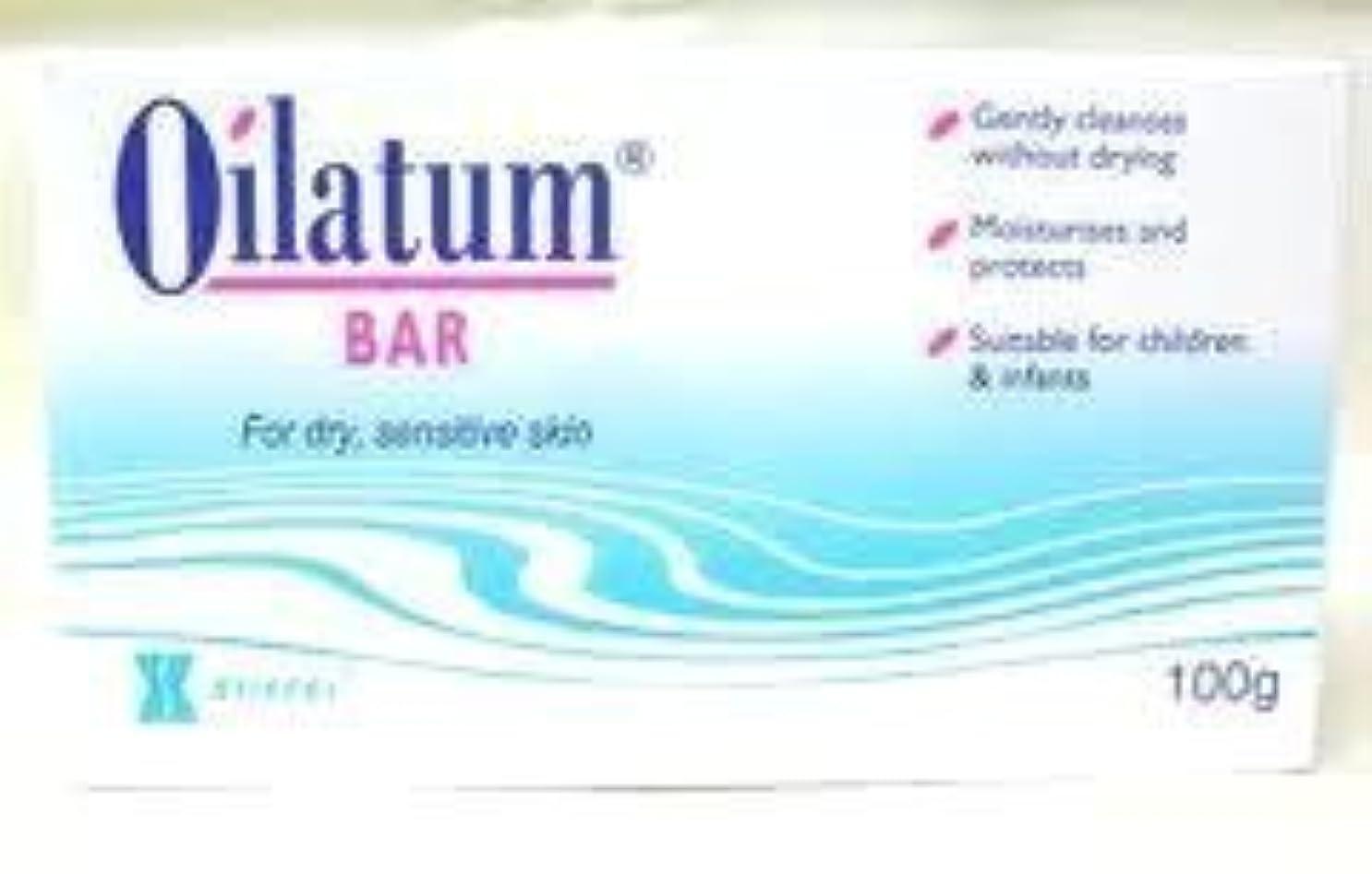 接ぎ木舗装和らげるOilatum Bar Soap for Sensitive Soap Skin Free Shipping 100g. by Oilatum