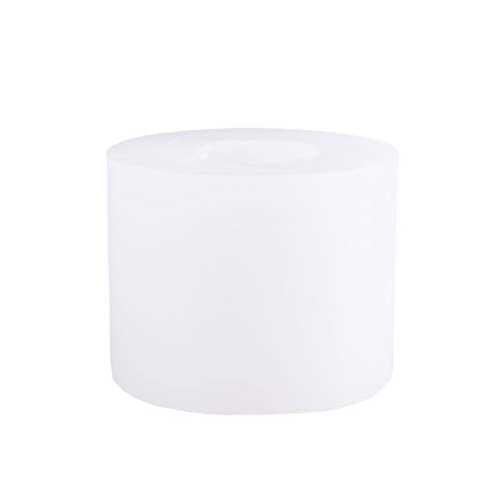ストリップ外交チャップSUPVOX 3Dシリコーンの香料入りの蝋燭型DIYの技術はフォンダンケーキ型を形成します