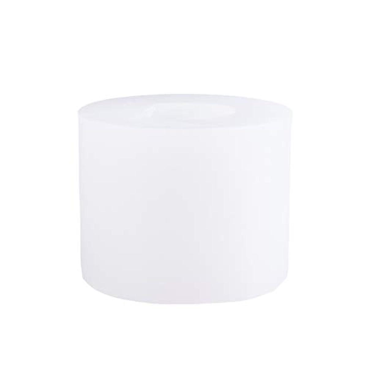 ゲージ姿勢画像SUPVOX 3Dシリコーンの香料入りの蝋燭型DIYの技術はフォンダンケーキ型を形成します