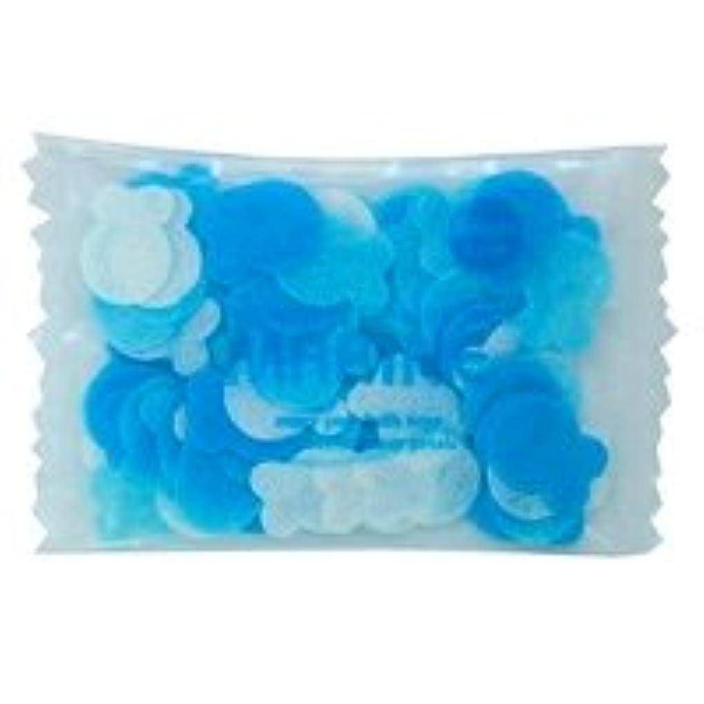 手書き同志大邸宅フラワーペタル バブルバス ミニパック「マリン」20個セット 穏やかで優しい気持ちになりたい日に心をなごませてくれる爽やかなマリンの香り