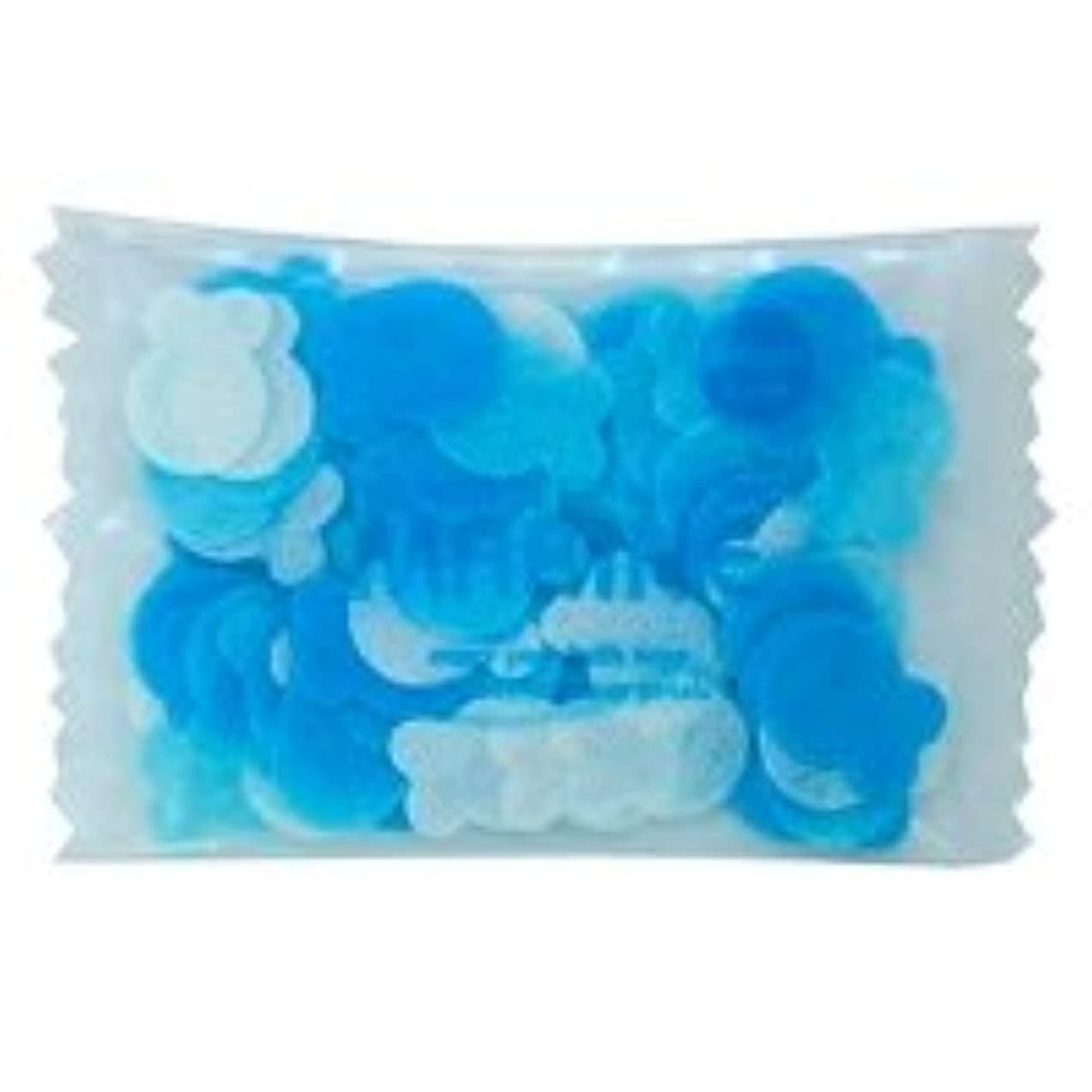 明るいビット剥離フラワーペタル バブルバス ミニパック「マリン」20個セット 穏やかで優しい気持ちになりたい日に心をなごませてくれる爽やかなマリンの香り