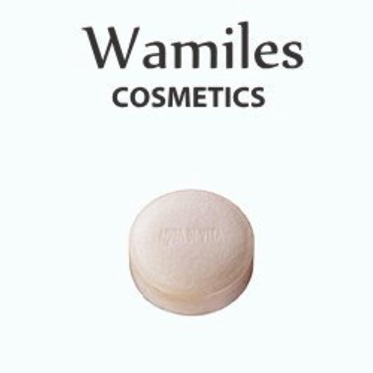 未亡人禁止のヒープwamiles/ワミレス アクア デ ヴィタ ヴィフィーセ ソープリファイナー 72g 美容 保湿