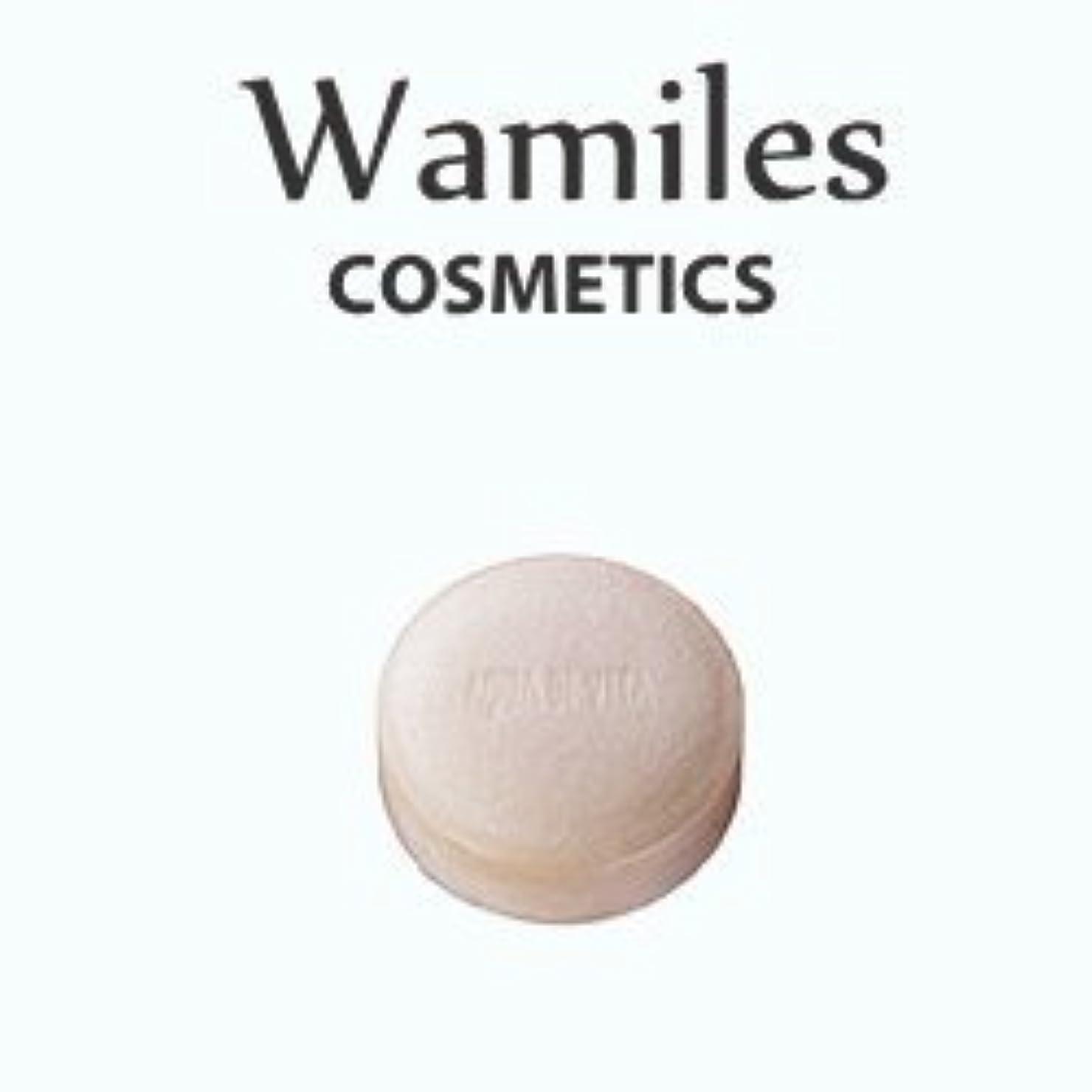 悲観的部分的ワンダーwamiles/ワミレス アクア デ ヴィタ ヴィフィーセ ソープリファイナー 72g 美容 保湿