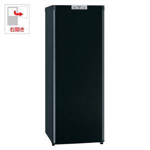 三菱 144L 冷凍庫【右開き】サファイアブラック【フリーザー】MITSUBISHI MF-U14D-B