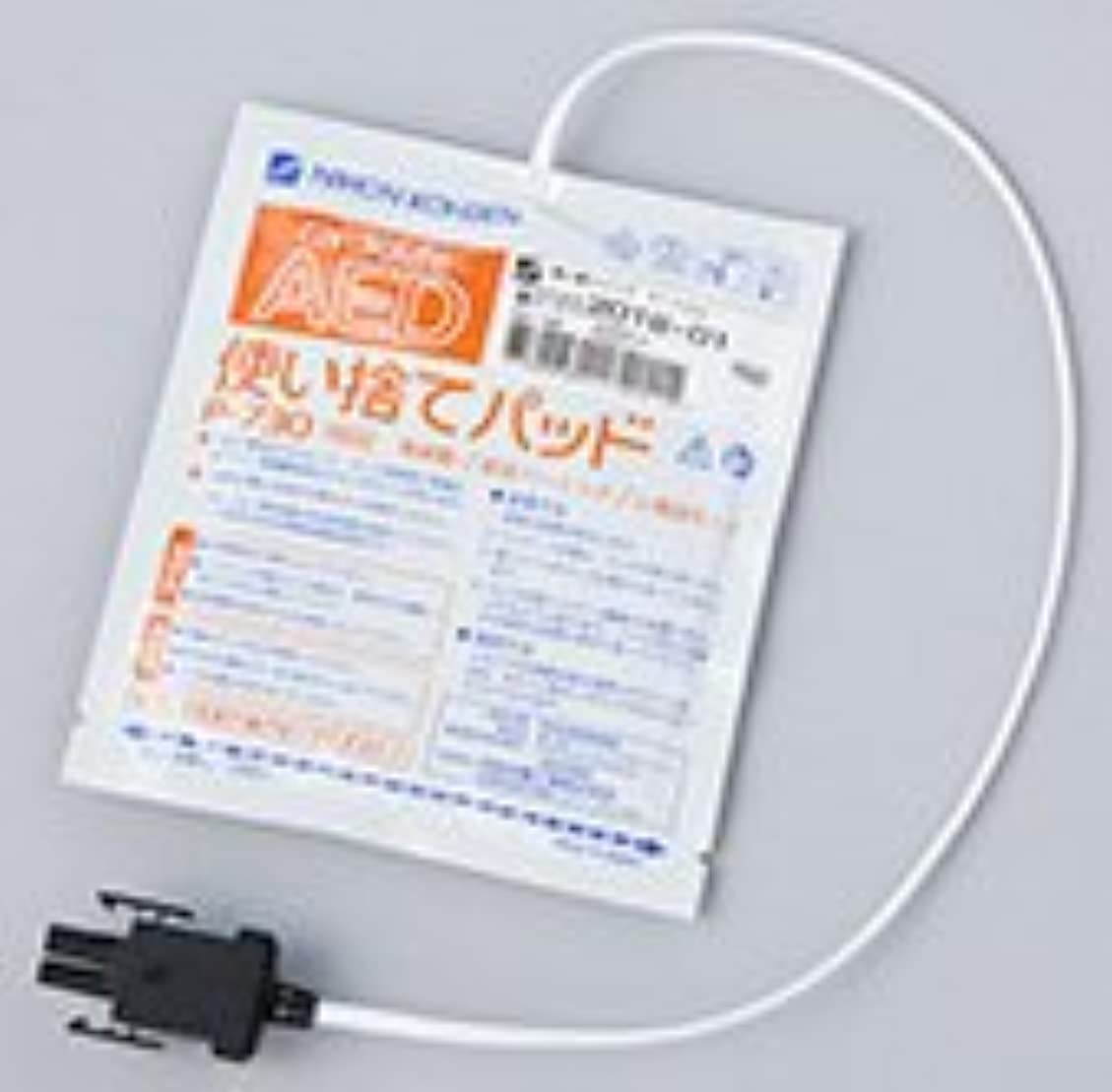 藤色リス半導体日本光電 AED-2100 AED-2150 共通 使い捨てパッド P-730 【1枚組】