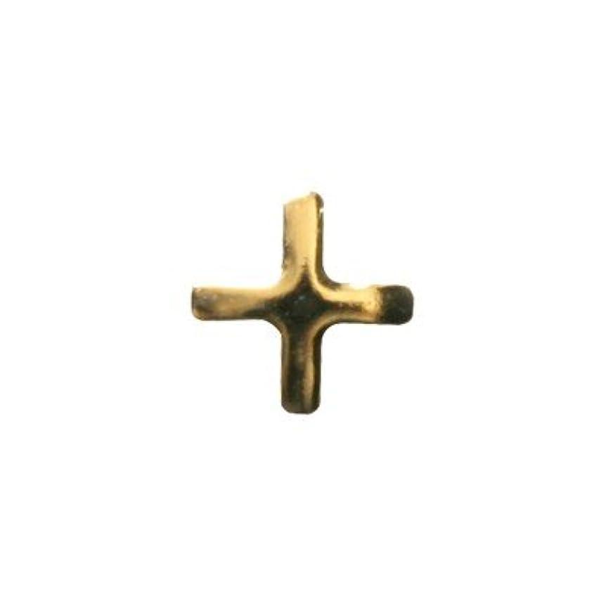どきどきタンク統治するピアドラ スタッズ クロスレット ハーフ 3mm 50P ゴールド