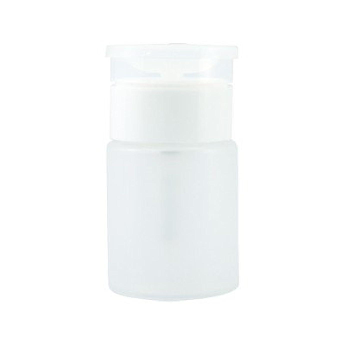 リングレット耐えられる容器TAT ポンプディスペンサー 75ml ホワイト