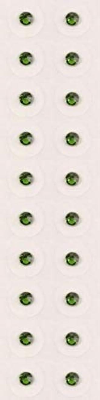 急いで探検神経【ファーングリーン/ss9/セラミック粒】耳つぼジュエリー20粒【全50色】