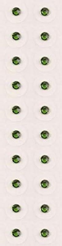 遊具反射クラシカル【ファーングリーン/ss9/セラミック粒】耳つぼジュエリー20粒【全50色】