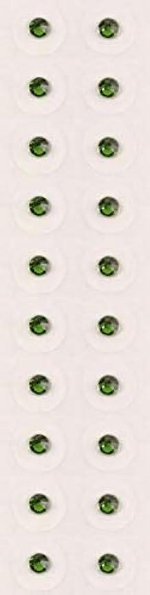 発音広告主ソケット【ファーングリーン/ss9/セラミック粒】耳つぼジュエリー20粒【全50色】