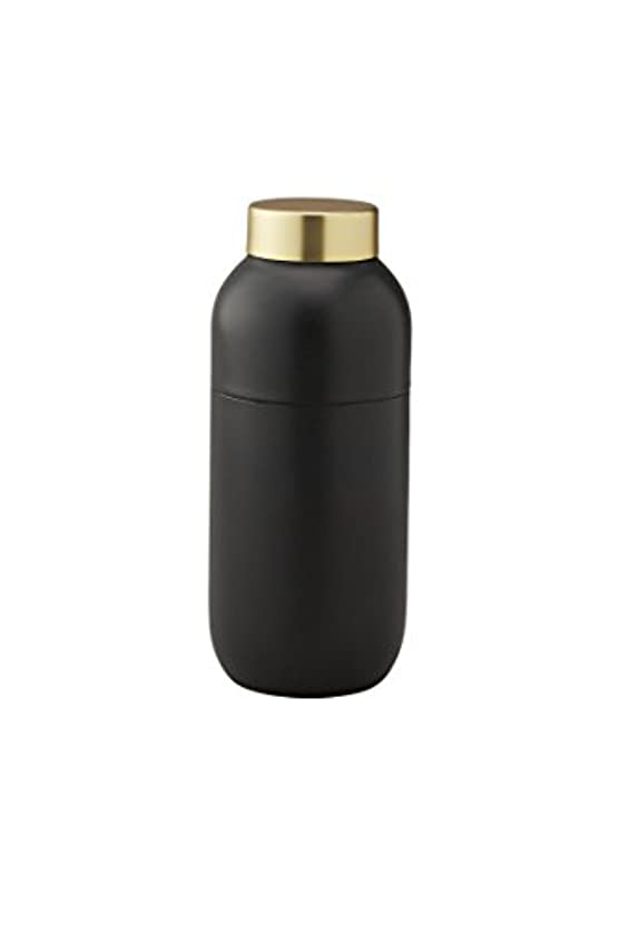 リファインピジンクラスStelton Collar Cocktail Shaker and Messbecher