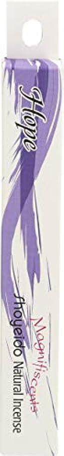結晶幽霊身元Shoyeido – Magnifiscents Angelicシリーズ自然Incense Hope 30 Stick(s) 21302
