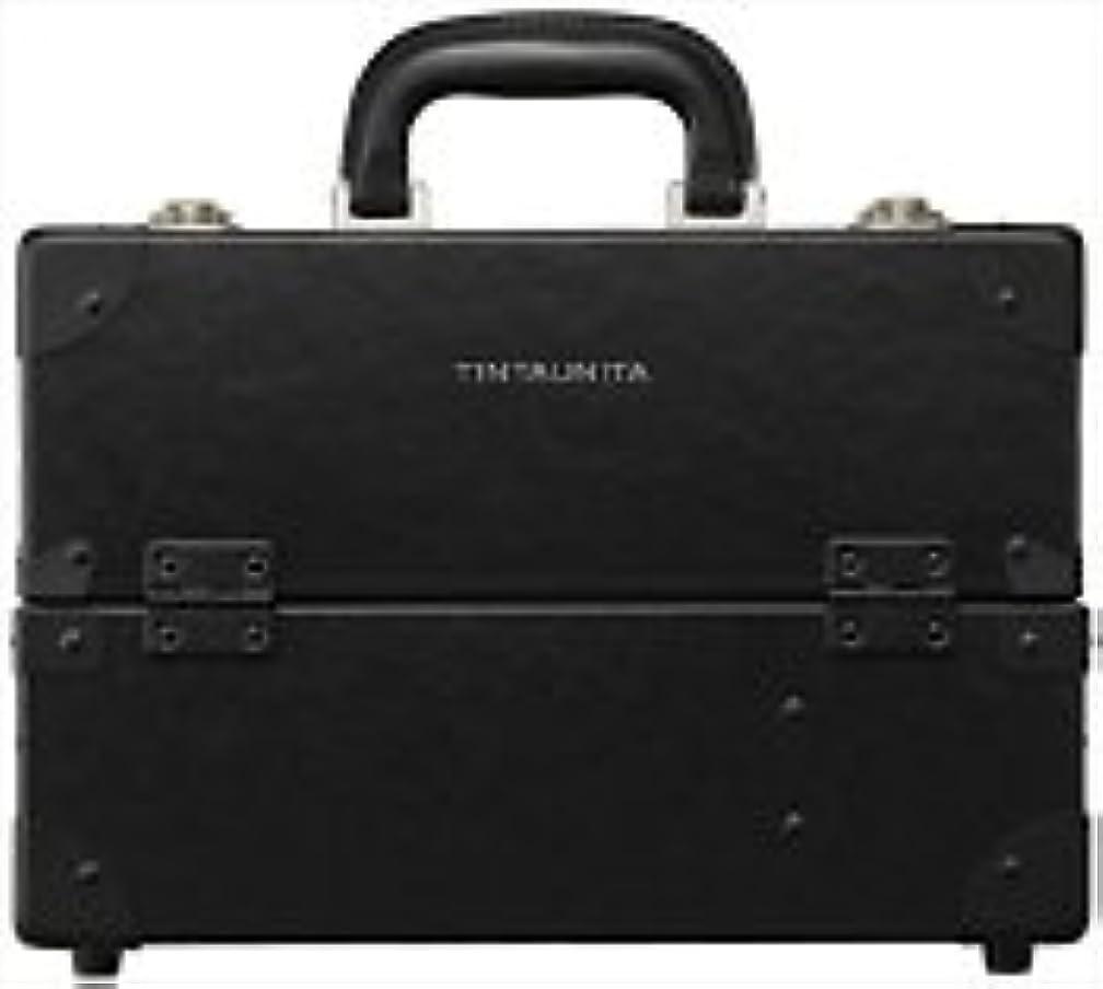 透けて見える大きい週末TINTAUNITA ファイバー素材メイクボックス(日本製)