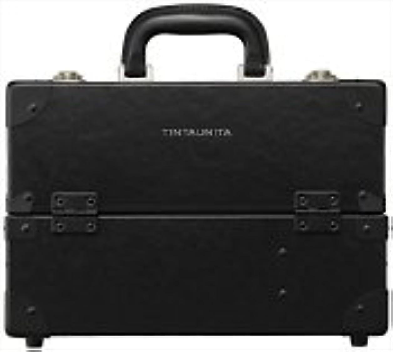 マークダウン学部興奮するTINTAUNITA ファイバー素材メイクボックス(日本製)
