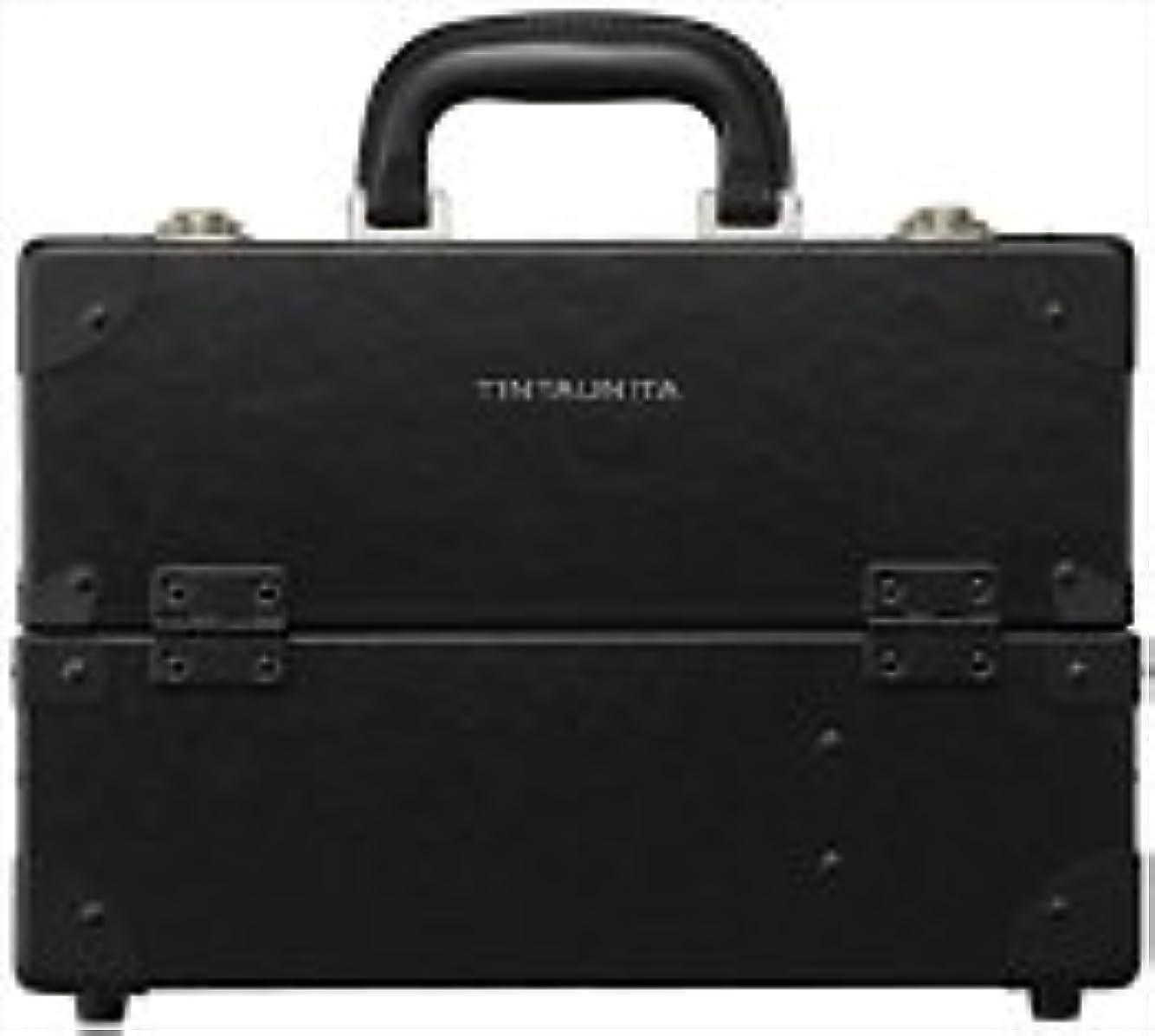 比率食料品店韓国語TINTAUNITA ファイバー素材メイクボックス(日本製)