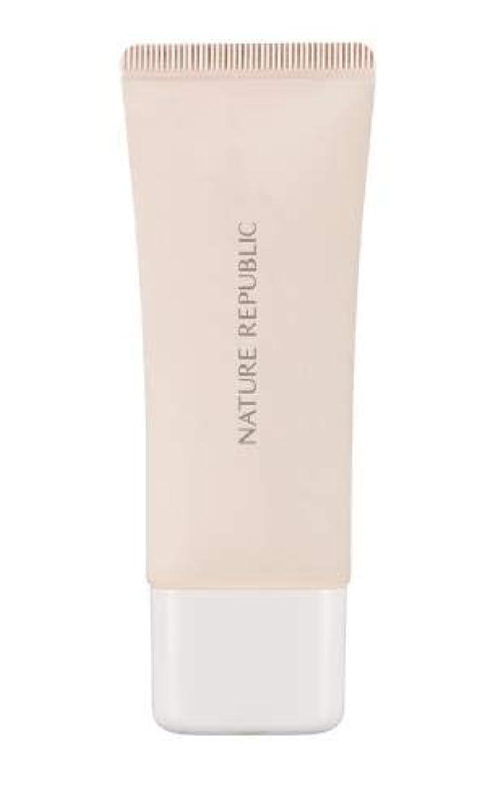 ハンカチシルエット上がるNature Republic Pure Shine Makeup Base # 02 Vanilla Pink/ネイチャーリパブリック ピュアシャインメイクアップベース#02バニラピンクSPF20 PA++ [並行輸入品]
