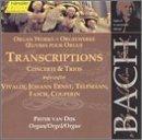 Bach: Organ Transcriptions by JOHANN SEBASTIAN BACH (2000-07-25)
