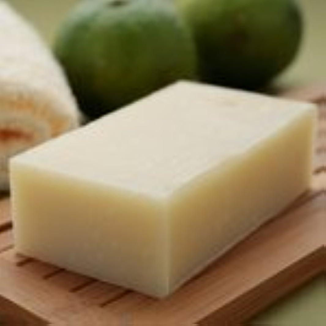 バッジ三傑作柚子石鹸