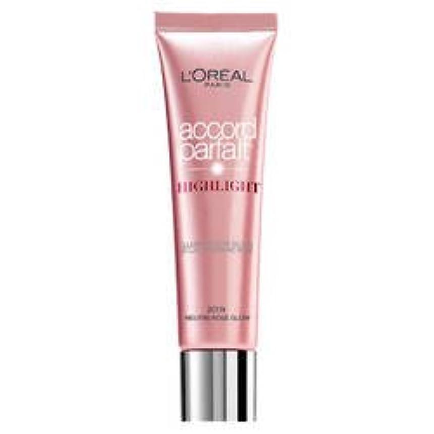 メンテナンス砲兵チャレンジL 'Oréal Paris - ACCORD PARFAIT Highlight Enlumineur Liquide - 201 Rose