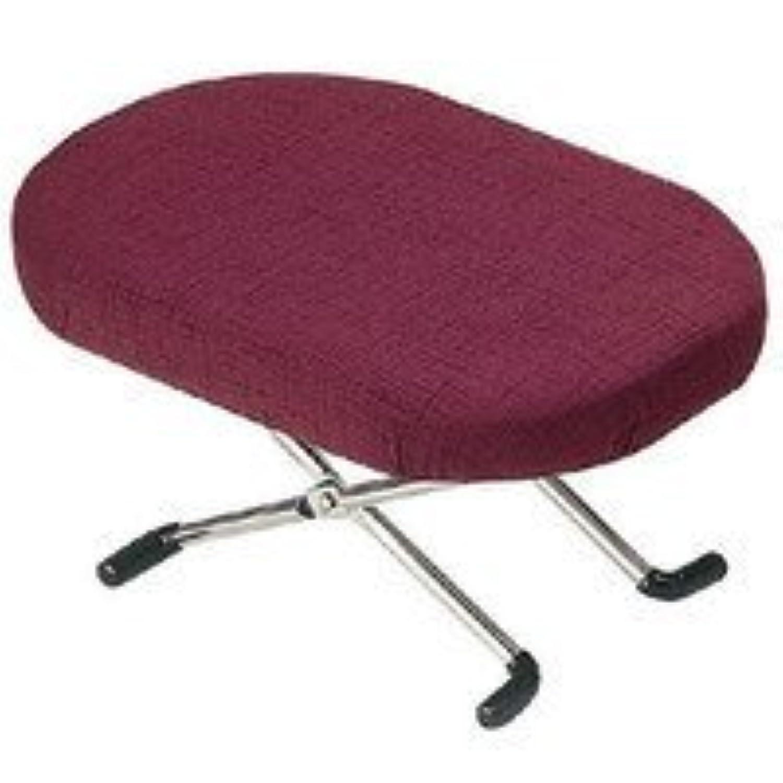 住友産業 座椅子 エンジ 本体サイズ:約16x25x12-17cm