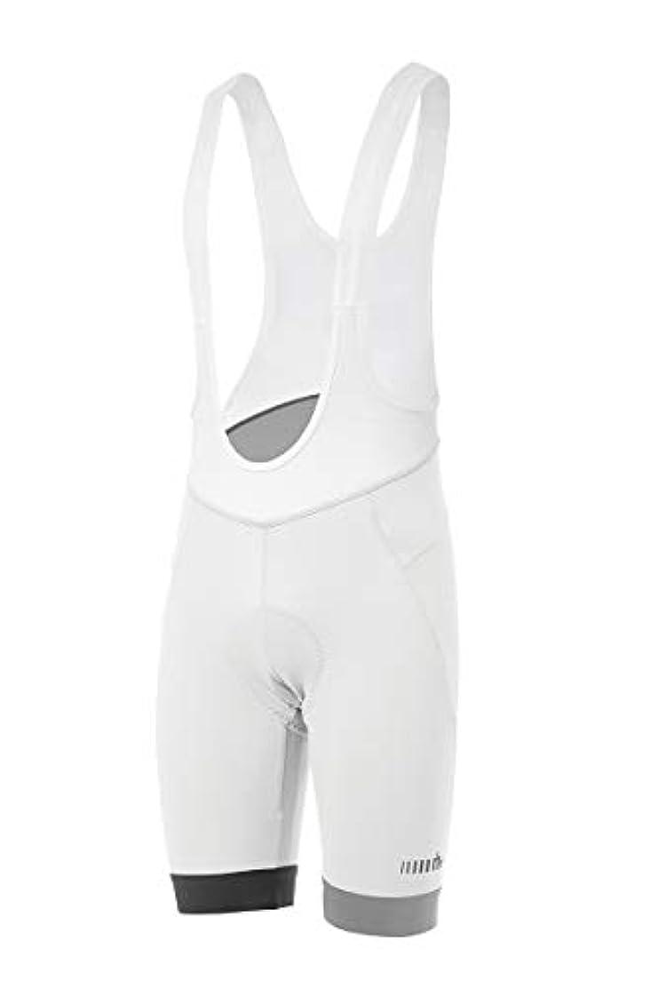 まあ咳虐殺[アールエイチプラス] ECU0525 Prime Bibshort R00 White-Reflex XL ビブショーツ EU (日本サイズXL相当)