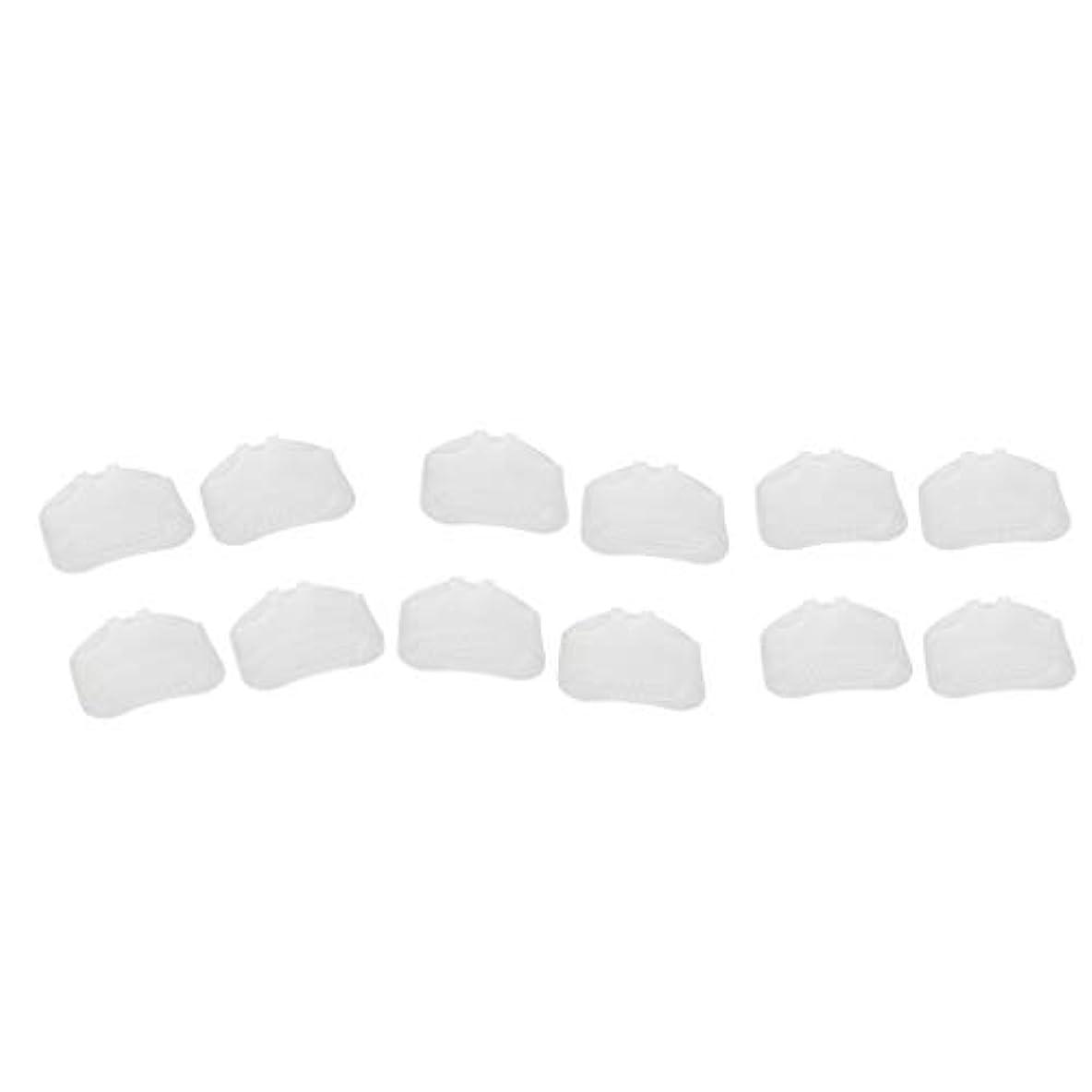 dailymall 男性と女性のための6ペアの中足骨ゲルパッドフットクッションクッションホワイト