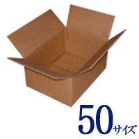 【1枚あたり33円!】送料込み!日本製ダンボール(段ボール無地) 50サイズ(220×160×120mm/C5AF) 50枚セット【送料無料】 / 生活BOX