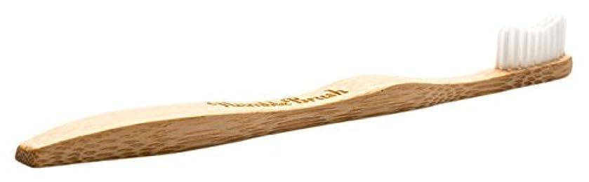 理容室避難するローマ人THE HUMBLE CO.(ザ?ハンブル?コー) HUMBLE BRUSH(ハンブルブラッシュ) 歯ブラシ 大人用 ホワイト 19cm