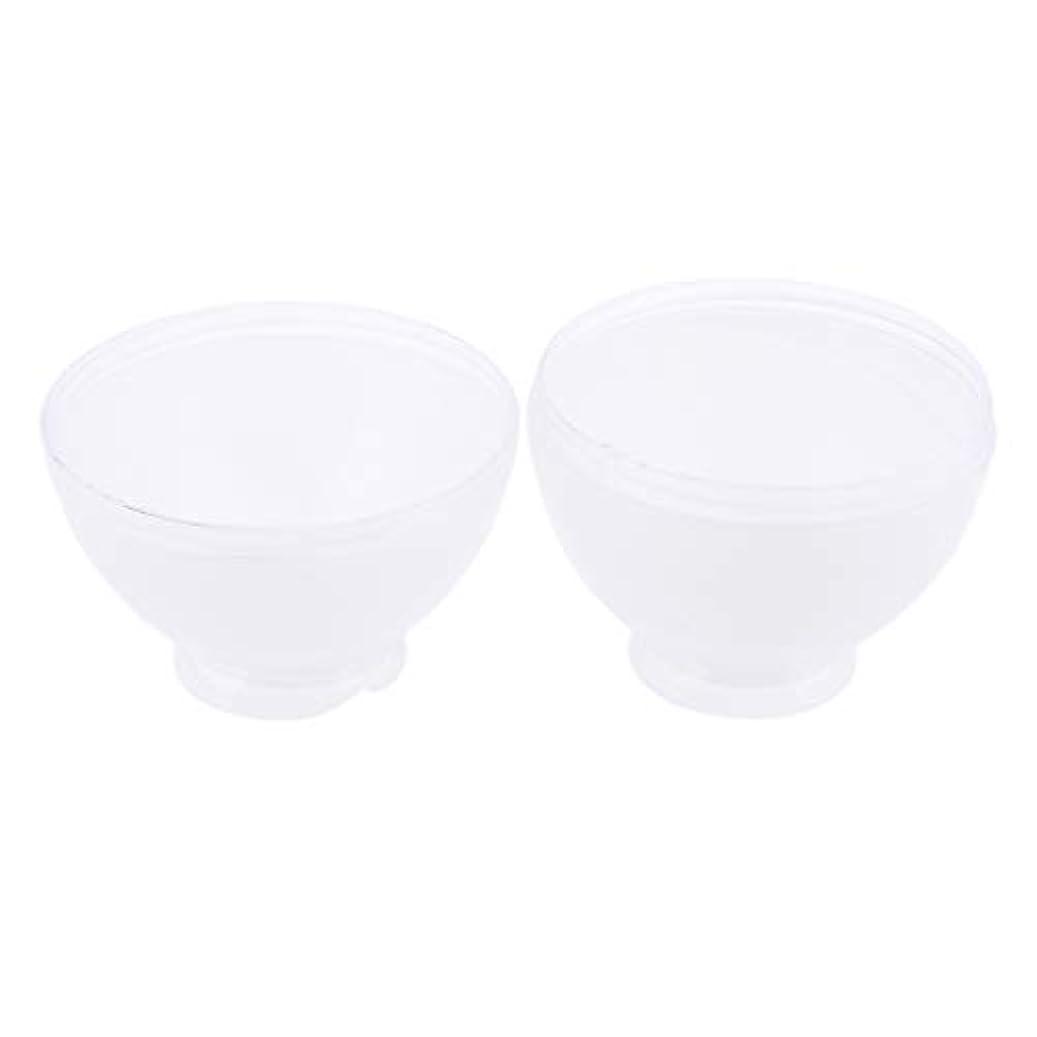 窓順番等DYNWAVE カラーボウル ヘアカラー ミキシングボトル プロ 美容師 キャンディー形状 便利 漏れ防止 全3色 - 白