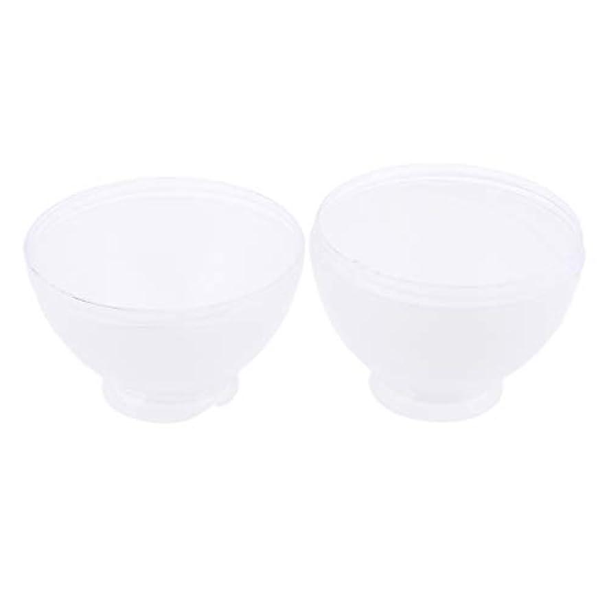 路地期限切れ採用するDYNWAVE カラーボウル ヘアカラー ミキシングボトル プロ 美容師 キャンディー形状 便利 漏れ防止 全3色 - 白