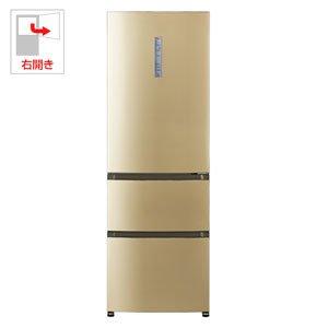 アクア 320L 3ドア冷蔵庫(ライトシャンパン)【右開き】A...