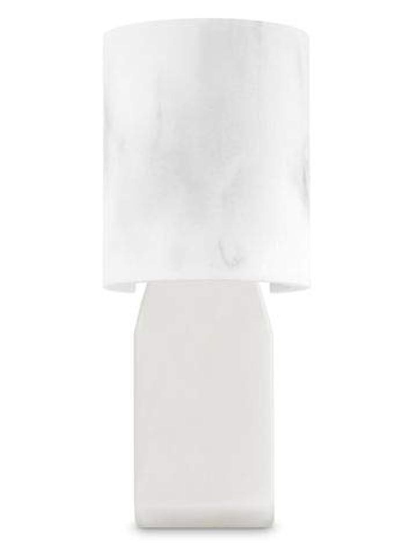 ミント深く認知【Bath&Body Works/バス&ボディワークス】 ルームフレグランス プラグインスターター (本体のみ) 大理石風 Wallflowers Fragrance Plug Faux Marble [並行輸入品]