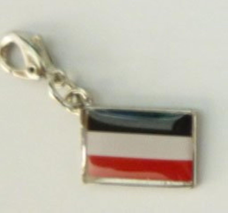 NATIONALFLAG 国旗柄ファスナーホルダー ドイツ帝国