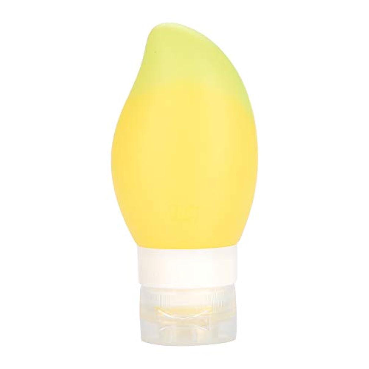 後悔グリーンバックさておき旅行ボトル シリコントラベルボトル ポータブルトラベル リサイクル可能なボトル ボトルローション コンテナ 店舗シャンプー/シャワージェル (3)