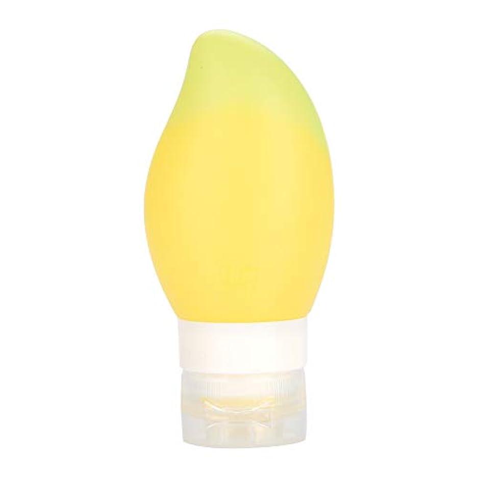 浸食低下長さ旅行ボトル シリコントラベルボトル ポータブルトラベル リサイクル可能なボトル ボトルローション コンテナ 店舗シャンプー/シャワージェル (3)