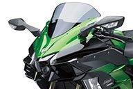 Kawasaki 2020年 Ninja H2 SX SE/SE+ 純正アクセサリー ウインドスクリーン(スモーク) 999941078 7009